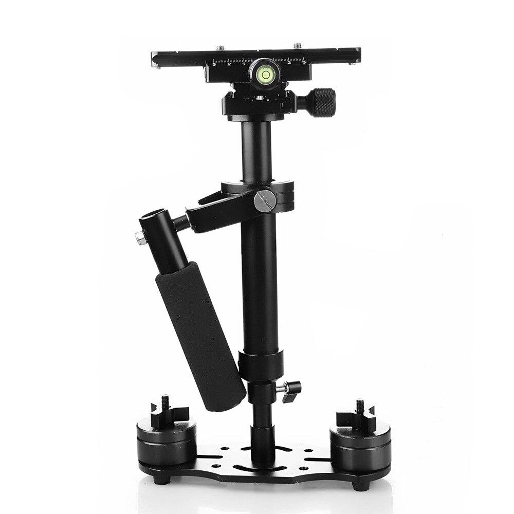 Stabilisateur de caméra DSLR stabilisateur de poche avec plaque de dégagement rapide 1/4
