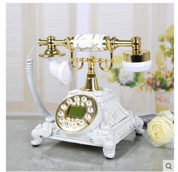 Good art of modern fashion retro antique European landline corded telephone landline Landline art gift craft