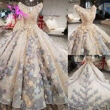 AIJINGYU צינור שמלות כלה הודי כלה שמלה סקסי שמלות קייפ ארוך אירוסין שמלת קצוץ קלאסיים