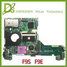 KEFU F9S For ASUS F9S F9E laptop motherboard with graphics card f9s rev2.1 original new motherboard 100% tested