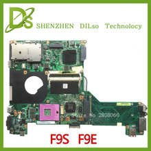 KEFU F9S For ASUS F9S F9E laptop motherboard with graphics card f9s rev2 1 original new