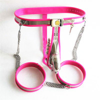 3in1 Male Chastity Belt with Leg Ring and Butt Plug Stainless Steel Male Chastity Device Penis Cage Sex Slave Fetish Adult Toys