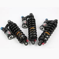 DNM RCP3 Downhill Mountain Bike Bicycle Rear Shock 450/550lbs MTB Bike Rear Shock Spring Shock Absorber For AM FR DH
