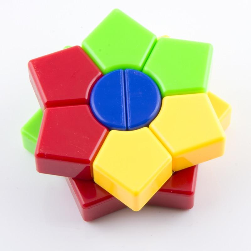 New Arrival 2-layers Super Square-1 Star Hexagonal Magic Cube David - ფაზლები - ფოტო 6