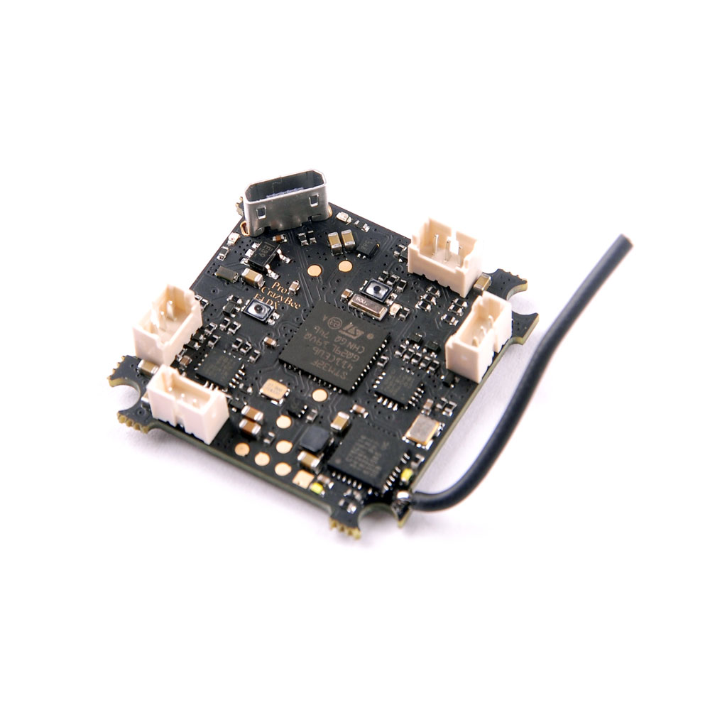 Crazybee F4 PRO Flight Controller 1 2S Compatible Flysky Frsky DSM X Receiver for 2S Brushless