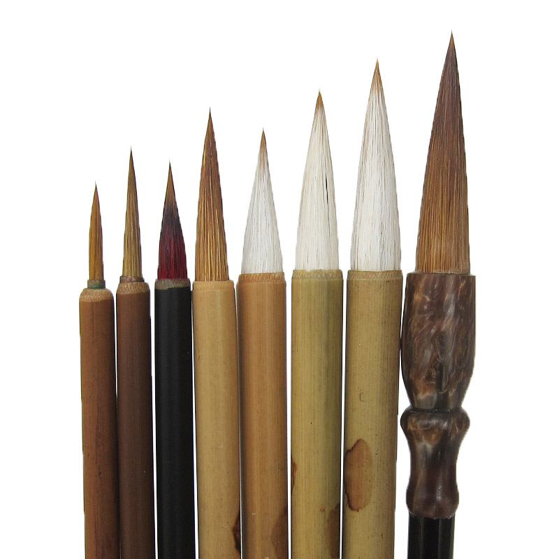 Chinese Calligraphy Brushes Pen Set Claborate-style Painting Landscape Brush Pen Figure Painting Peony Artist Painting SuppliesChinese Calligraphy Brushes Pen Set Claborate-style Painting Landscape Brush Pen Figure Painting Peony Artist Painting Supplies