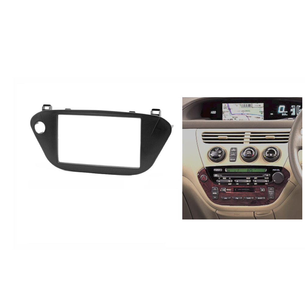 for TOYOTA Vista V50 Double Din Fascia Stereo Panel font b Radio b font DVD Dash