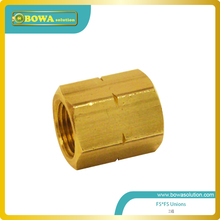 Brass Coupling 1/2 SAE Flare Female x Female