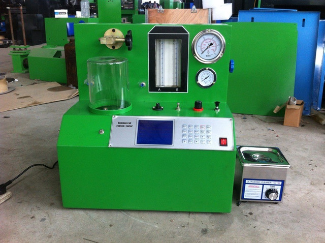 US $1150 0  common rail test bench PQ1000 common rail diesel electronic  diesel fuel injector tester-in Electrical Testers & Test Leads from