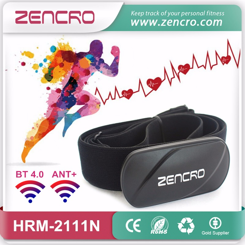 BT 4.0 ANT+ heart rate monitor belt