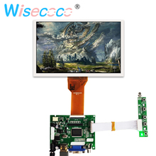HDMI VGA AV 50PIN TTL LVDS Controller Board with 7 inch TFT LCD panel LCD screen Module for Raspberry PI 3B 2 1 LCD AT070TN94 все цены