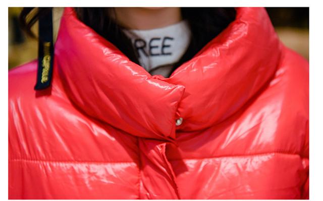 Women Parkas Cotton Padded Jacket New Fashion Women's Windproof Cotton Jacket Warm Outerwear Parka 2018 Winter