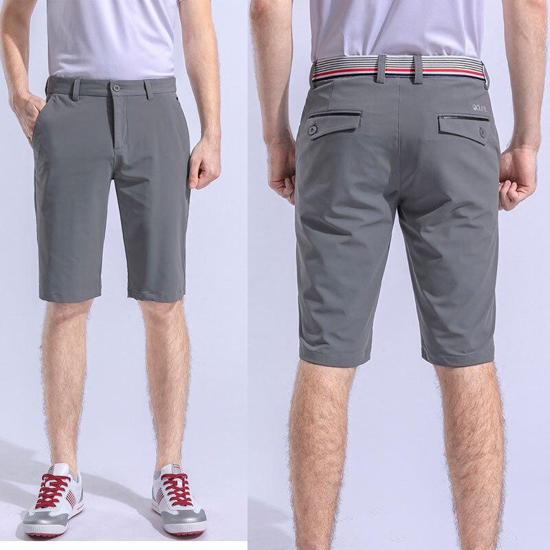 Hommes golf shorts été demi longueur pantalon pour sport noir gris sport tissu séchage rapide nouveaux hommes poche pantalon court XXS ~ 3XL