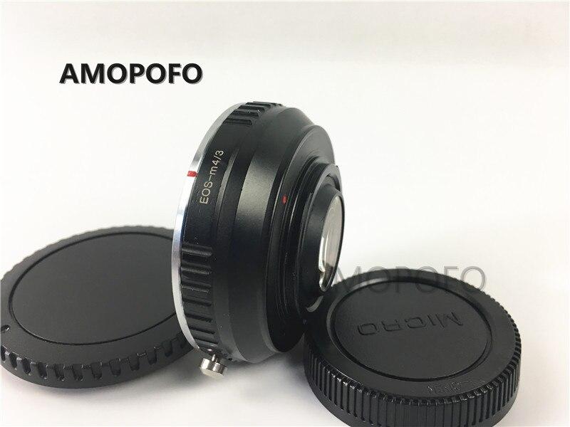 Amopofo For EOS-M4 / 3 Focal Reducer Speed Booster Adapter for - Kamera og bilde