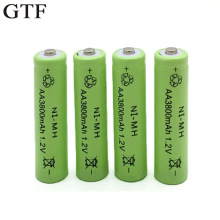 GTF 1.2V 3800mah AA Battery Ni-MH Rechargeable Neutral Battery Rechargeable battery AA batteries for camera RC toys Accumulator
