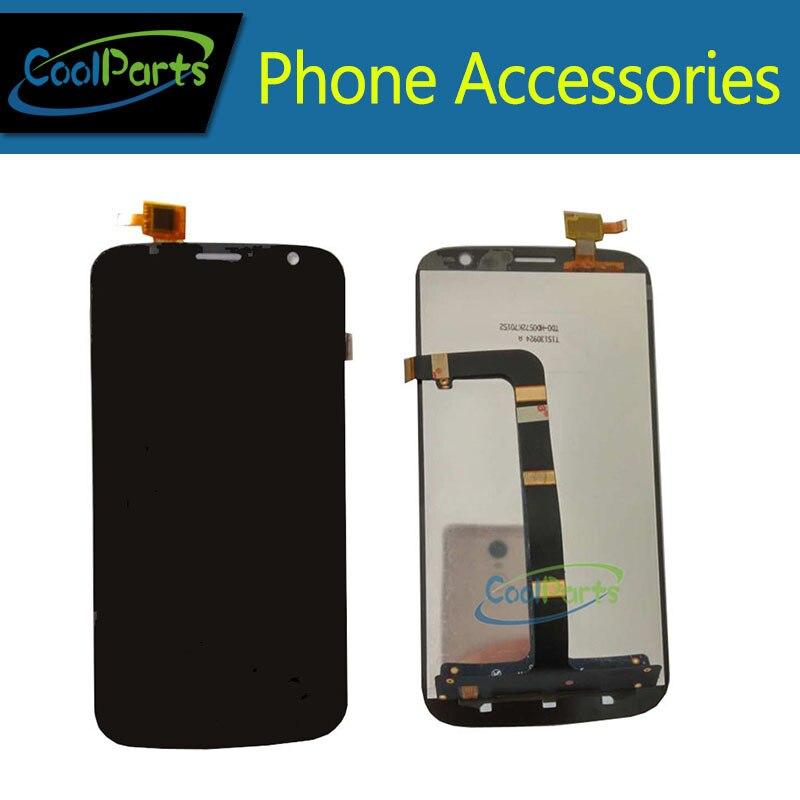 1 PC/Lot Haute Qualité Pour Explay Communicateur LCD Affichage Écran Et Écran Tactile Digitizer Assemblée Remplacement Noir Couleur
