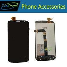 De alta Calidad de color Negro Para Explay Communicator LCD y pantalla Táctil de piezas de Repuesto 1 PC/Lot
