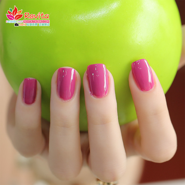 El color dulce ecológico mate esmalte de uñas de aceite rojo de la ...