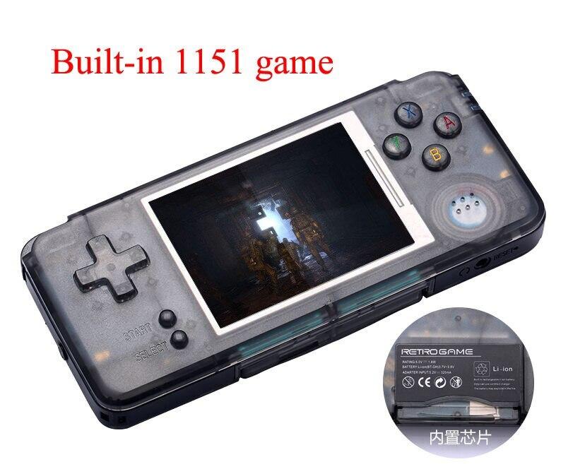 Coolbaby RS-97 rétro Console de jeu Portable Mini joueurs de jeu vidéo MP4 Built-in3000 de lecture 16G gamescadeaux d'enfance