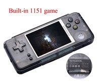 coolbaby RS 97 RETRO Handheld Game Console Portable Mini Video Gaming Players MP4 MP5 Playback Built in1151 gamesChildhood Gifts