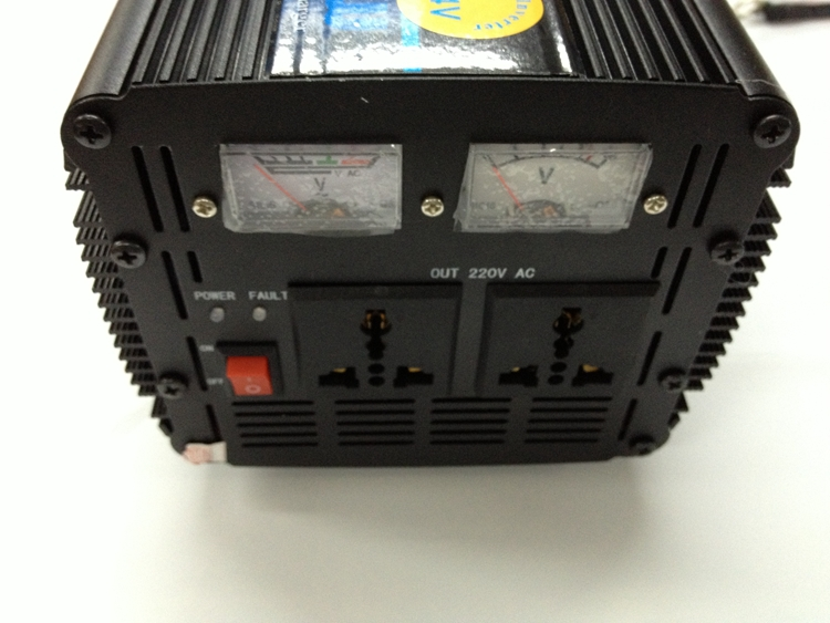 цена на Modified Wave Power Inverter DC to AC 3000W 12V to 220V with UPS Universal Uninterrupted Power Supply function