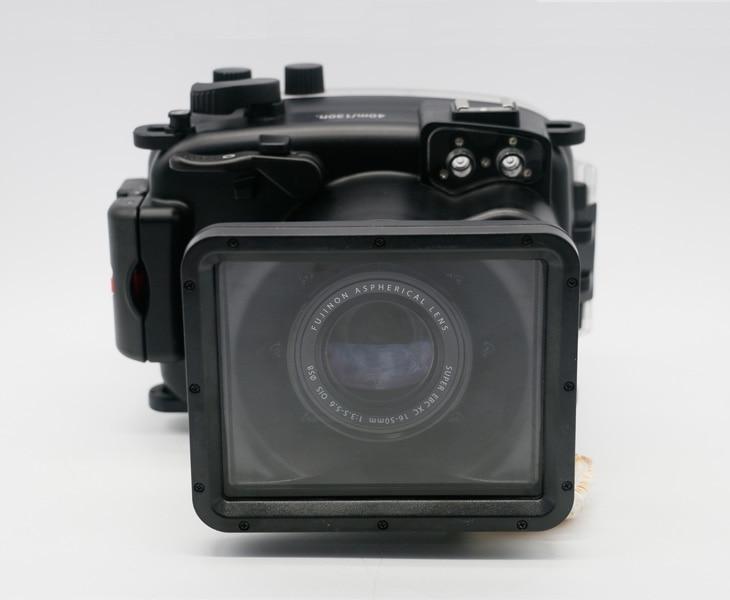 Waterproof Underwater Diving Camera Housing Hard Bag Case for Fujifilm Fuji X A1