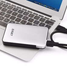 High Quality EAGET 500G/1T/2T/3T HDD Mobile Hard Drive Disk High Speed USB 3.0 External Enclosure Case Desktop Storage Device