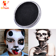 Face Paint Body Painting Black Color Colored Drawing Pigment Face Makeup Maquiagem faux tatouage Paste Cream Party Halloween 30g