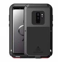 Metal Armor Case Shockproof Rugged Full Body Protective For Coque Samsung Galaxy Note9 Note8 S9 S9Plus Covers Phone Case KS0004