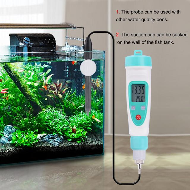 Yieryi ph replacement probe aquarium hydroponic laboratory electrode ph meter potential test bnc q9 connector