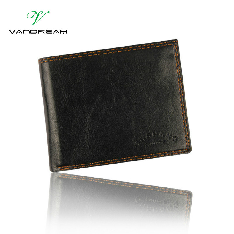 Vintage European and American Style PU Leather Men Wallets Dollar Price Money Slim Bag Short Wallet Card Purses & ID Holders ! dollar price new european and american ultra thin leather purse large zip clutch oil wax leather wallet portefeuille femme cuir