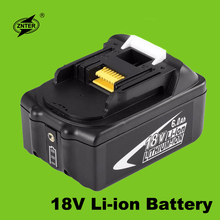 Znter 18V 6000mAh Power Tool Battery Pack for Makita BL1850 BL1860 Replacement Battery 18V 6.0Ah Rechargeable Li-ion Battery 3pcs 18v bl1860 li ion 6000mah replacement for makita 18v bl1840 bl1830 bl1850 rechargeable power tool battery with usb adapter