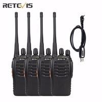 2pcs A Lot UHF 400 470MHZ Baofeng A0784A Handheld Two Way Radio 888S Walkie Talkie
