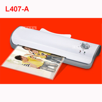 L407 A A4 Photo Laminator Office Hot&Cold Thermal Laminating Machine Professional For A4 Document Photo PET Film Roll Laminator|thermal laminating machine|laminating machine|roll laminator -