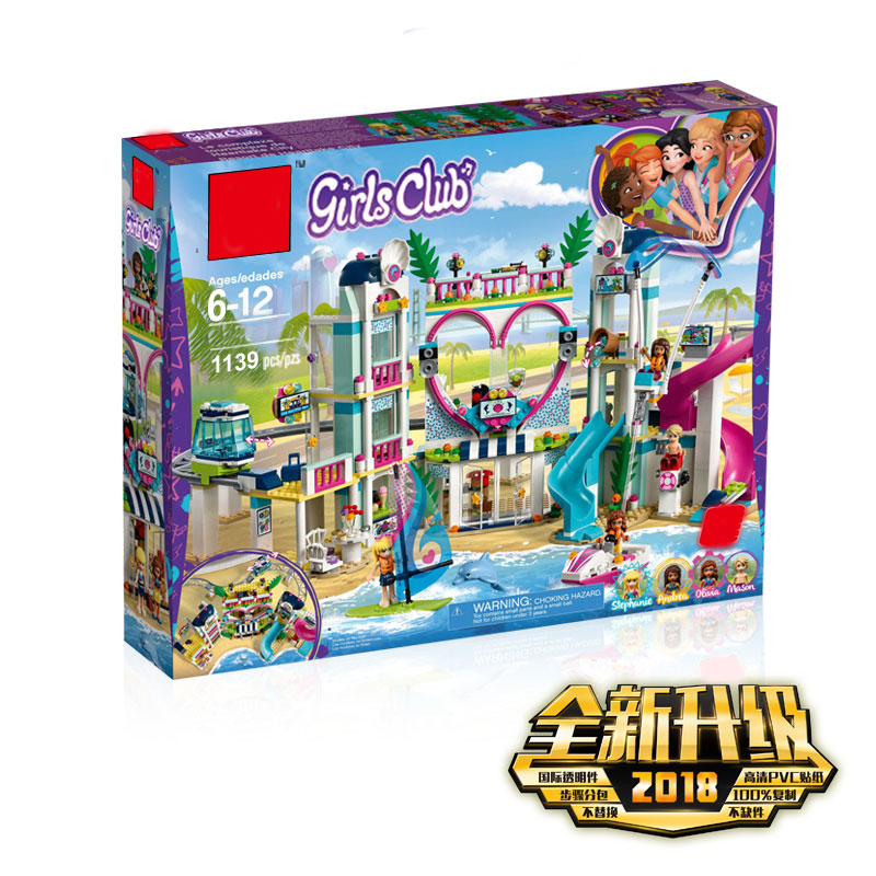 New Friends The Heartlake City Resort Compatible Legoingly Friends Building Block Brick Toys Girl Children Christmas GiftsNew Friends The Heartlake City Resort Compatible Legoingly Friends Building Block Brick Toys Girl Children Christmas Gifts