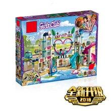 Новые друзья heartlake City, курортная Совместимость с legoingly Friends, строительный игрушечный конструктор для девочек, детские рождественские подарки