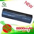 8800 мач 12-секционный аккумулятор для HP PAVILION DM4 DV3 DV5 DV6 DV7 G32 G62 G42 G6 for Compaq Presario CQ32 CQ42 CQ43 CQ56 CQ57 CQ62