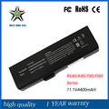 Общие 11.1 В 4400 мАч Высокое Качество Новый Аккумулятор для Ноутбука Fujitsu K41 K40 K40A K40B A41 V80 V80A V480 TS44A Калибровки
