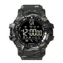 8781bab1a67 Relógio inteligente EX16S IP68 relogio invicta homens À Prova D  Água  Inteligente Eletrônica Chamada Lembrete