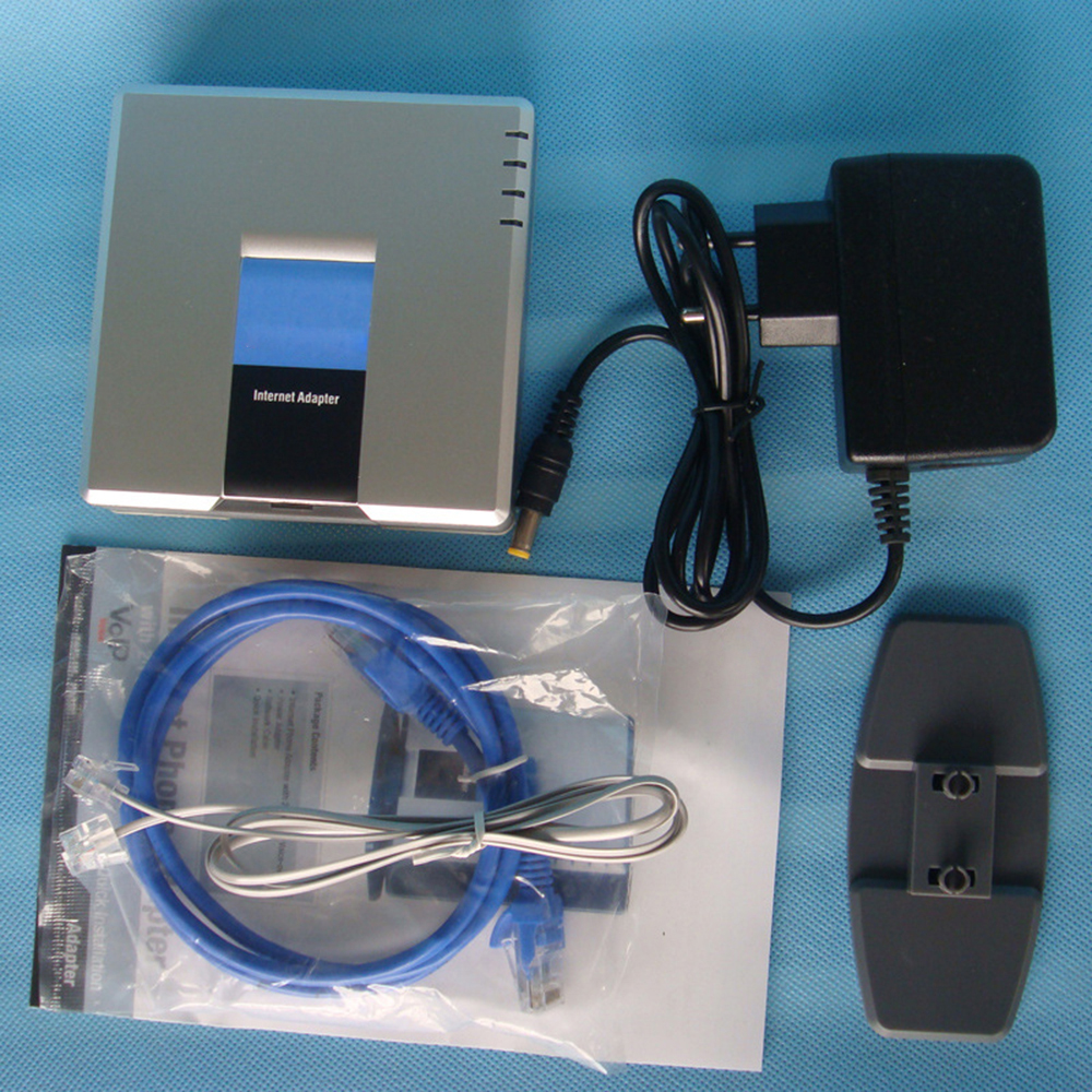 Neue Cisco Linksys SPA2102 SPA2102-NA Telefon Adapter Mit Router Entsperrt