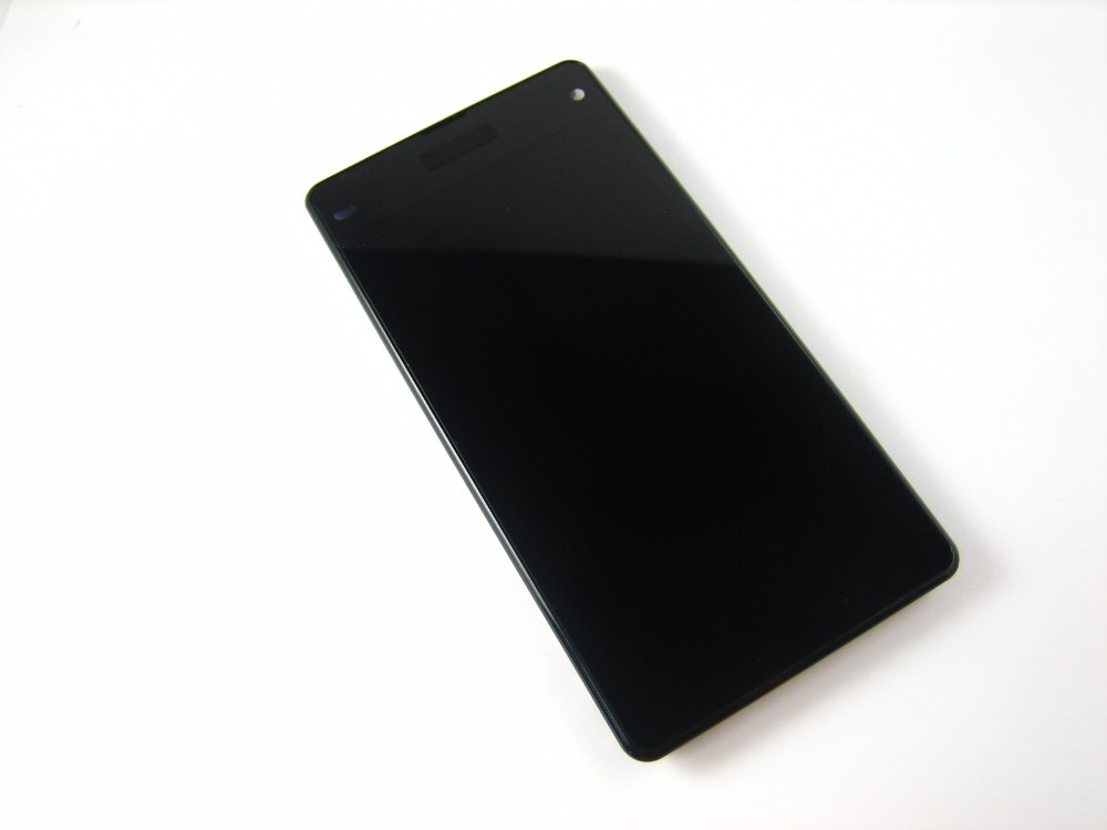 ФОТО Replacement Full LCD Display + Touch Screen Digitizer + Frame for Sony Xperia Z1 Compact D5503 Black / White / Lime Yellow