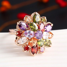 Ring Wedding Women CZ Jewelry Fashion 2017 Finger Ring Party Female Wedding Engagement Jewelry Accessories Knuckle Ring