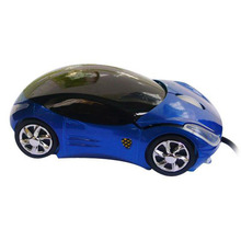 Fashion Wired USB Car Mouse 3D Car Shape USB Optical Mouse Gaming Mouse Mice for PC Laptop Computer