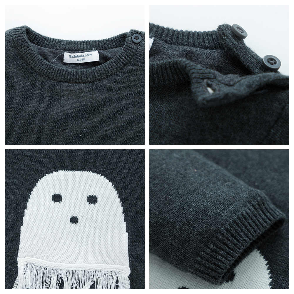 Balabala Vest Voor babys 2018 Brand Design Wol Katoen Knitwear Winter Baby Trui Kinderkleding Jongens Trui Kids Baby