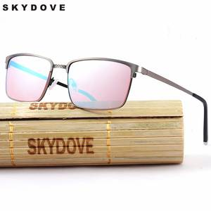 SKYDOVE Red Color Glasses Women Men Sunglasses Eyewear