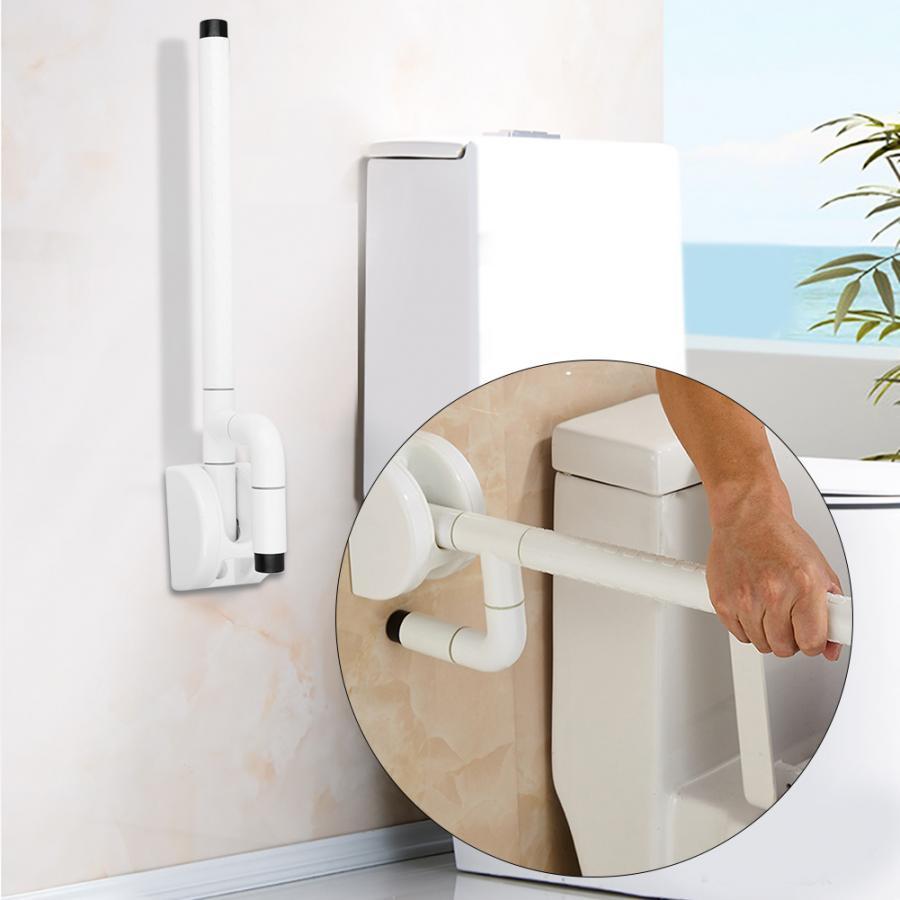Folding Bathroom Handle Grab Bar For Elderly Safety Bathtub Bathing Shower Grab Non-slip Anti-skid WC Toilet Handle Rail Grip