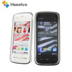 Разблокированный оригинальный телефон Nokia 5230 GSM WCDMA, GPS, FM, Bluetooth, экран 3,2 дюйма, Восстановленный