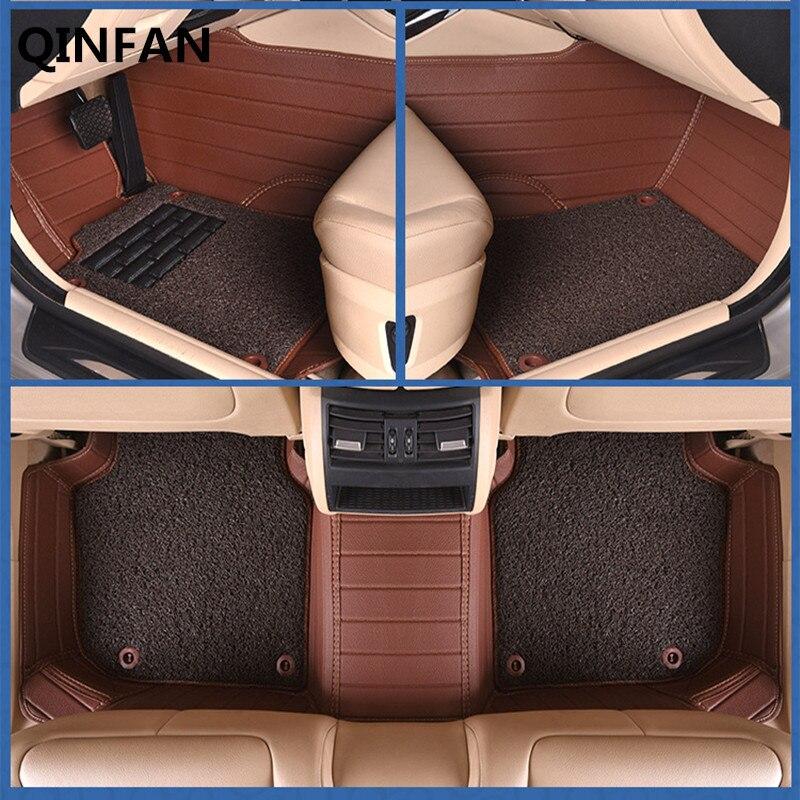 2017 Custom Car Floor Mats For Volkswagen All Models Passat , Polo Golf, Tiguan, Jetta ,Touran, Touareg, Car Styling Floor Mat