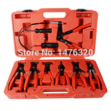 Universal Hose Clip Clamp Set Automotive Flexible Hose Pliers Kit AT2029
