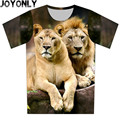 New 2016 Summer Children 3D T Shirt Animal Lion Print T-Shirt Short Sleeve Casual Tee Brand Clothing Tops Boy Girl Clothes A116